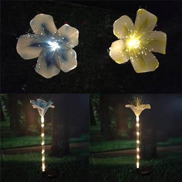 光纤花装饰灯