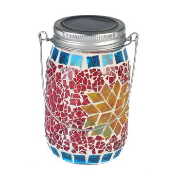 太阳能梅森罐子串灯